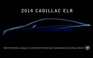 Гибрид Cadillac ELR покажут в Детройте