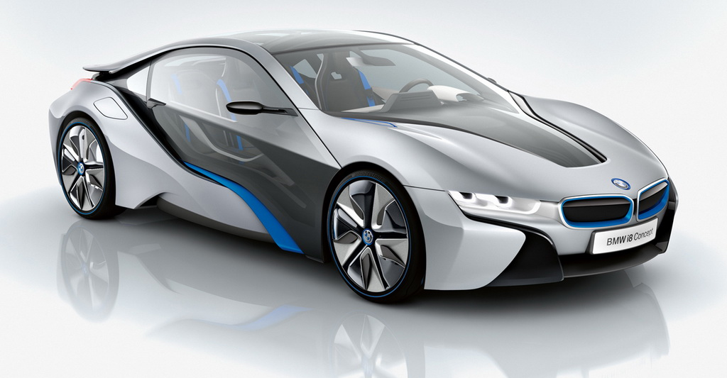Концепт-кар BMW i8 PHEV в 2011 году