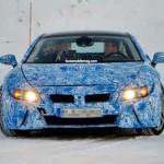 Шпионские кадры: теперь BMW i8 PHEV