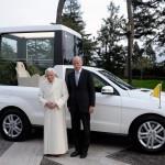 Mercedes-Benz для Папы Римского