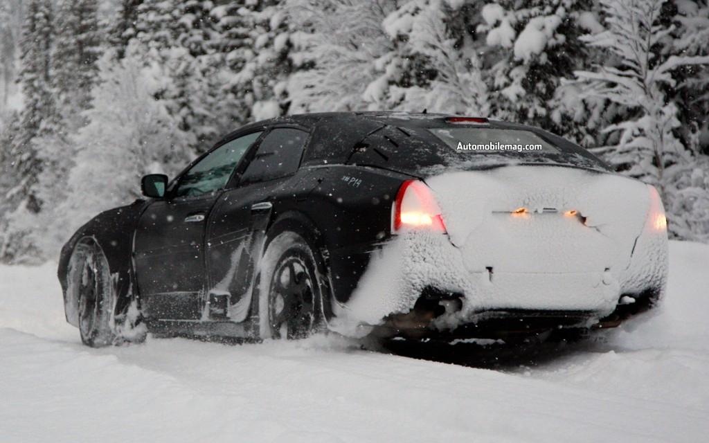 Шпионские кадры Maserati Ghibli. Третье пришествие?