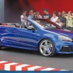VW Golf R Cabriolet — видео-полудетектив