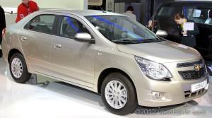 Chevrolet Cobalt - объявлены цены