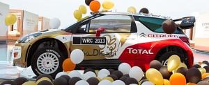 Citroën Total Abu Dhabi World  Rally Team livery