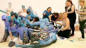 Инсталляция Эммы Хак за безопасность движения