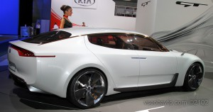 Концепт KIA GT на Московском Автосалоне 2012