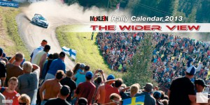 Календарь McKlein Rally 2013 - The Wider View
