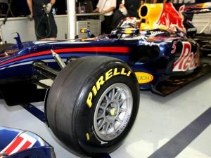 Pirell - поставщик шин для Формулы-1