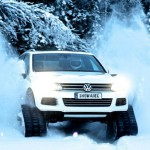 Новогоднее: Volkswagen Snowareg