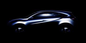 Концепт Honda Urban SUV будет показан на Детройтском Автосалоне