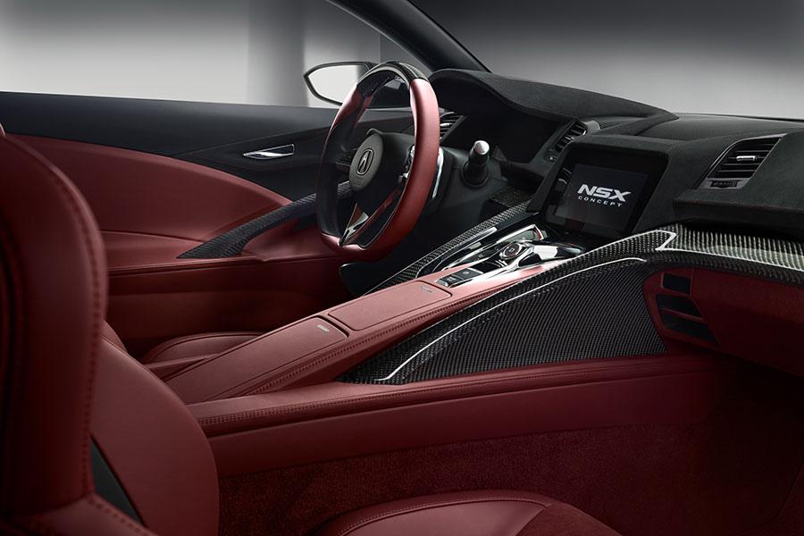 Acura NSX Concept. Детройтский автосалон 2013.
