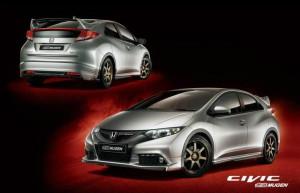 """Honda Civic 2012 в """"оформлении"""" от тюнинг ателье Mugen"""