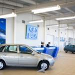 Продажи автомобилей Lada в России в 2012 году