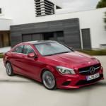 Mercedes CLA: пока крупнее «цешки»