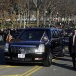 Инаугурация Барака Обамы - президентский лимузин