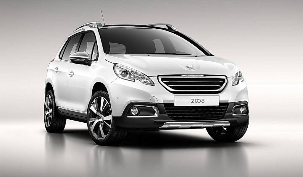 Peugeot 2008 первые фото