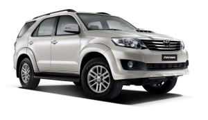 А японский Toyota Fortuner - в Казахстане