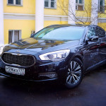 Kia Quoris celebrity shopping1